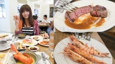 台南大飯店 歐式自助餐,翡翠廳 Buffet,海鮮、牛排現點現做,新鮮吃到飽!