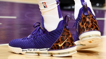 新聞分享 / LeBron James 與 Nike LeBron 16 'King Purple' 的紫金主場首秀