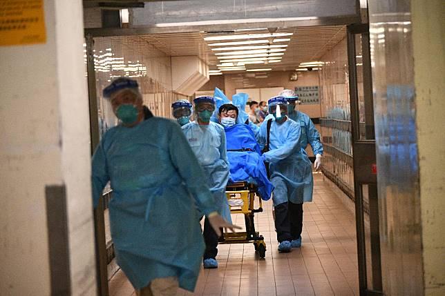 男病患被送往瑪嘉烈醫院。