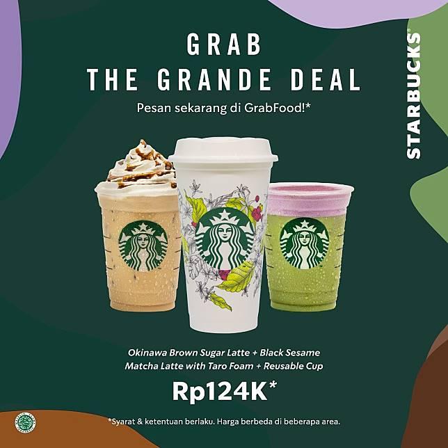 Starbucks Promo Grab The Grande Deal
