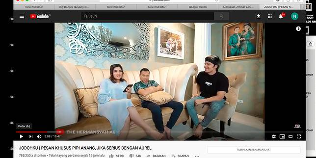 YouTube The Hermansyah A6