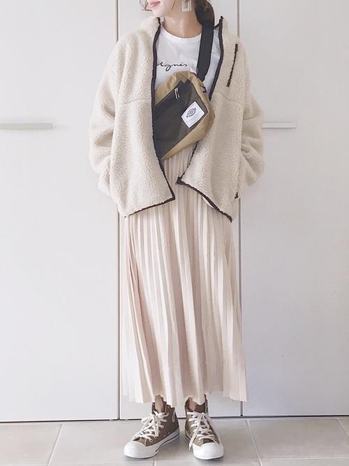 GU 羊毛絨刷毛夾克