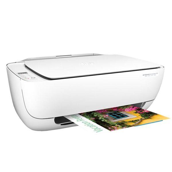照片打印機惠普3636彩色噴墨打印機家用小型辦公學生打應機手機無線wifi遠程打印全館免運