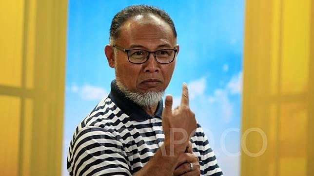 Bambang Widjojanto berbicara saat menghadiri peluncuran buku Nusantara Berkisah 2: Orang-orang Sakti karya S. Dian Andryanto di Gedung Tempo, Jakarta, 14 Desember 2019. TEMPO/Fardi Bestari