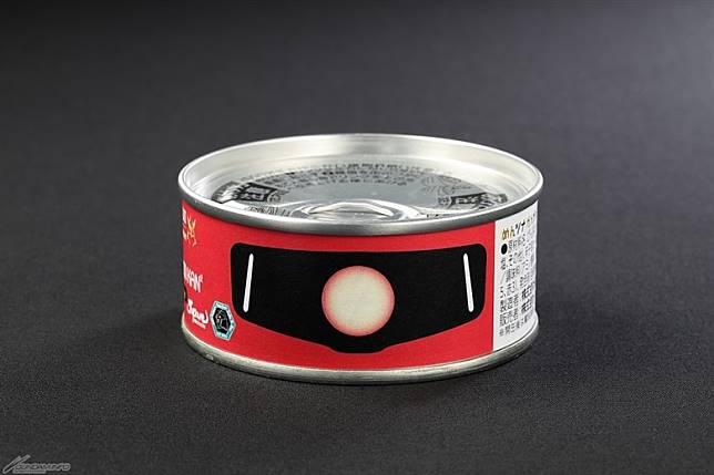 就連紅彗星馬沙專用紅渣古都有出罐頭。售價:594日圓(約HK$43)(互聯網)