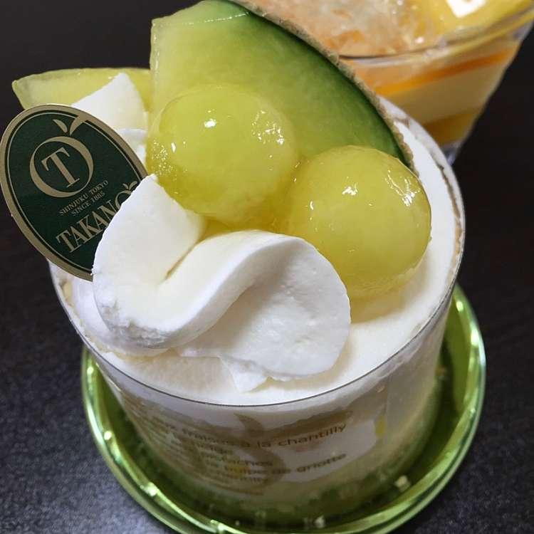 ユーザーが投稿したGateaux マスクメロンの写真 - 実際訪問したユーザーが直接撮影して投稿した新宿ケーキ新宿高野 ルミネエスト店の写真