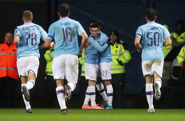Manchester City. Reuters