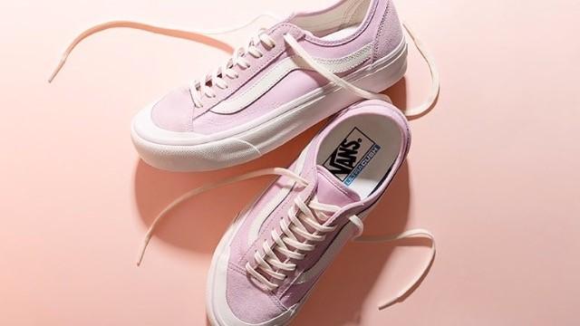 街頭潮流寵兒Vans Style 36—春季新色狂刷街頭時尚