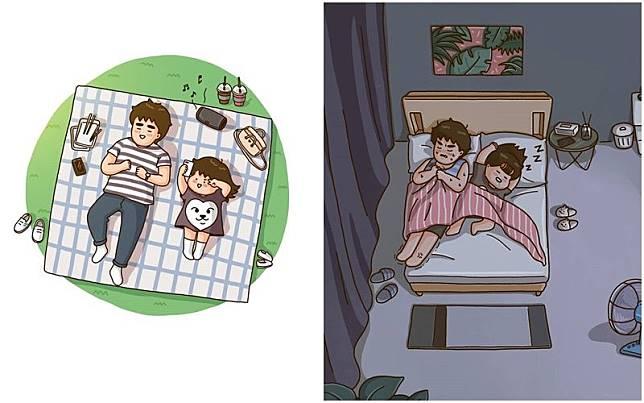 Download 530  Gambar Animasi Kartun Berdua  Gratis