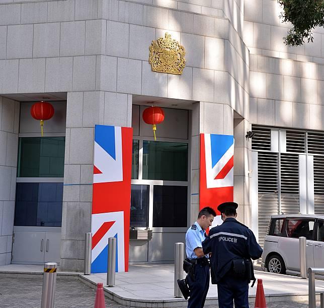 警方跟進英國駐香港總領事館男職員失蹤案件。資料圖片