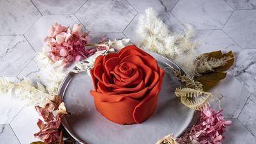 情人節想脫單?就讓「玫瑰造型蛋糕」神助攻!BAC超搶眼「玫你不可蛋糕」~栩栩如生巧克力玫瑰花瓣極度誘惑!