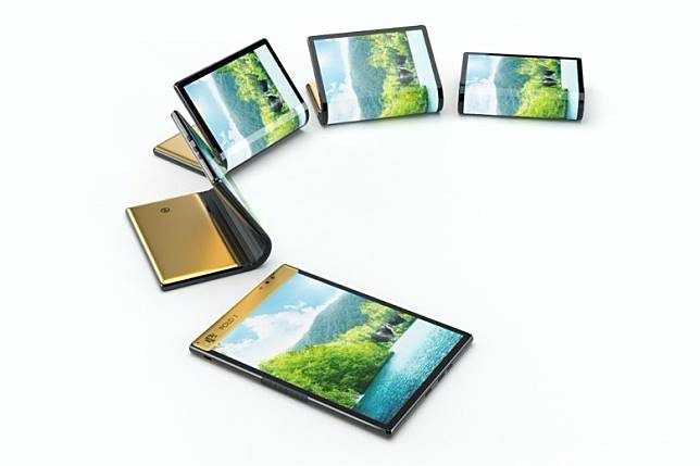 採用外摺式設計,屏幕7.8吋、FHD+解像度、支援4:3顯示比例。(互聯網)