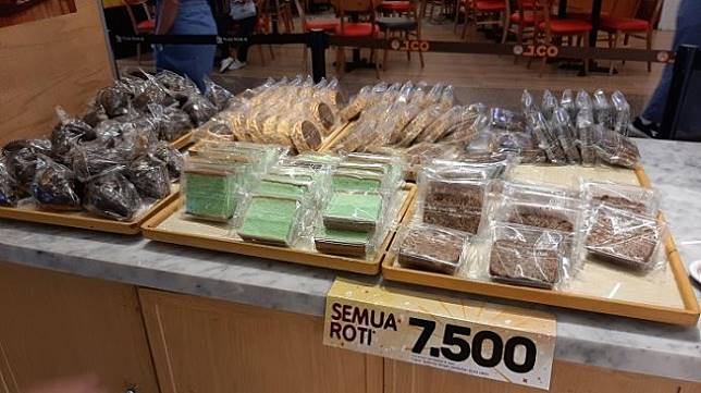 Banting Harga Selama 3 Hari Roti Breadtalk Harganya Cuma Rp