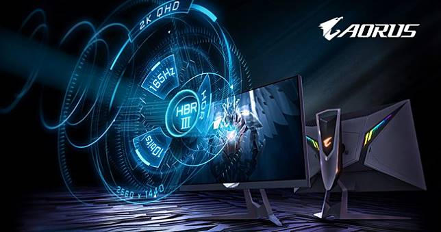 AORUS FI27Q-P戰術型電競螢幕搭載HBR3強勢登場!