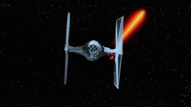 Pesawat TIE Fighter di 'Star Wars'. (Foto: Star Wars)