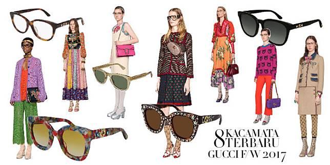 8 Kacamata Wanita Terbaru dari Koleksi Gucci e7a23bbace