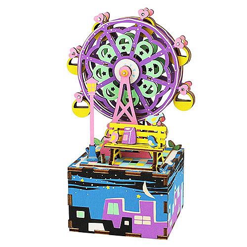 ★機械齒輪,細節設計,時尚,高品質的3D木製拼圖nn★鍛煉意志力和DIY的樂趣