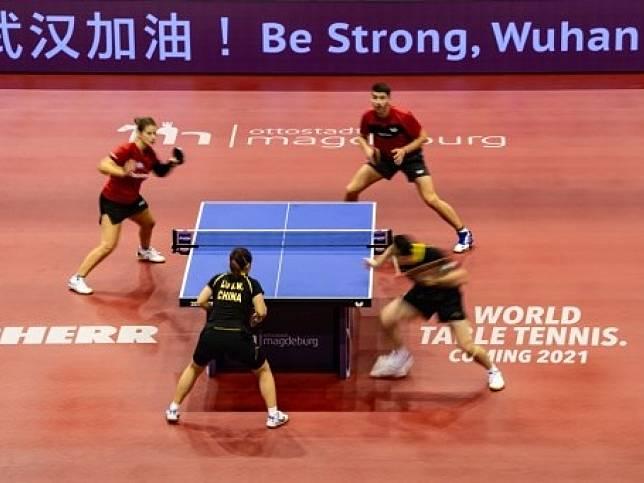 受疫情影響,國際乒聯再推遲2020年世錦賽至9月底。(法新社資料圖片)