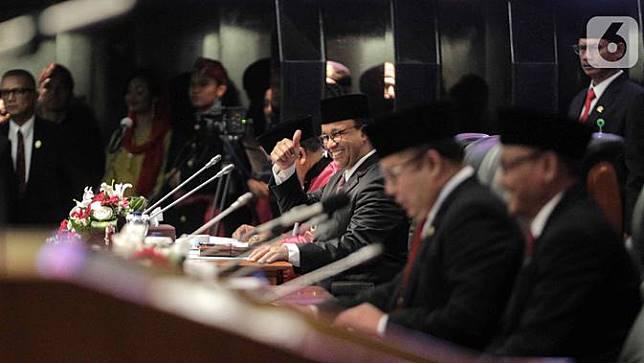 Sah, 5 Pimpinan DPRD DKI Jakarta Resmi Dilantik