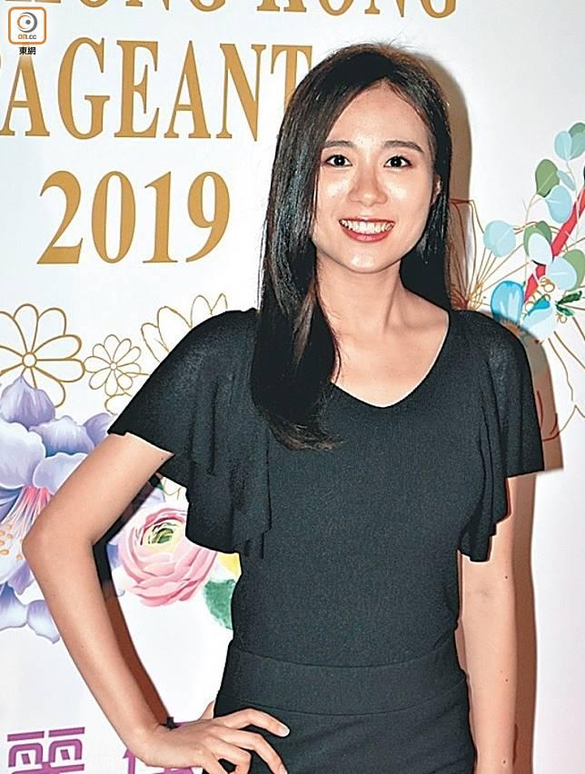 23歲參賽佳麗王菲。