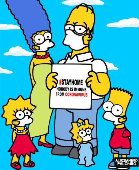 Gambar Kartun Unik Keluarga Kerajaan Inggris Untuk Kampanyekan