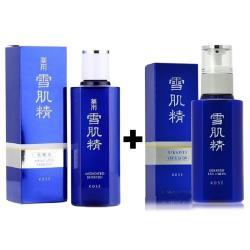 KOSE 雪肌精藥用化妝水實惠瓶360ml +KOSE雪肌精-乳液140ml