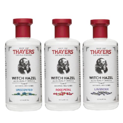 [預購!] Thayers 金縷梅化妝水(3種香味組合-355ml/瓶)