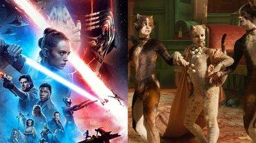 聖誕節檔期口碑遇難?《星際大戰 9》開局獲 53 分,電影版《貓》毒舌影評掀起全球熱議!