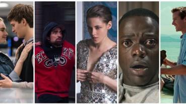 Indiewire 電影網站 2017 年度電影排行榜 TOP.25