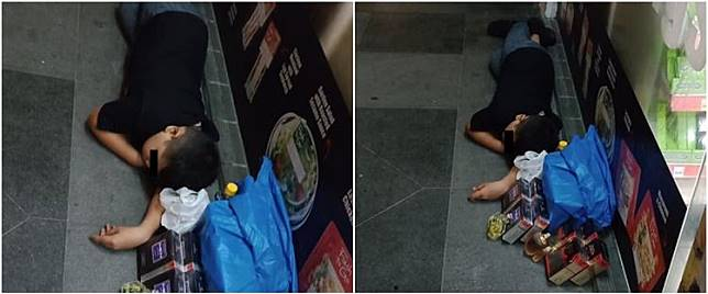Kisah bocah penjual parfum tidur di trotoar ini bikin haru