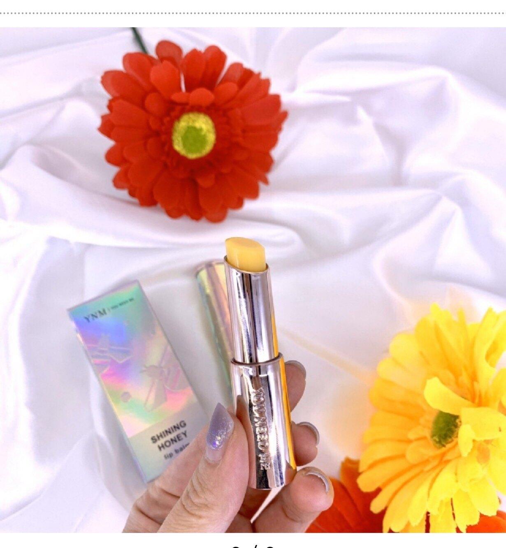 【女生愛漂亮】韓國YNM SHINING HONEY蜂蜜潤色護唇膏3G