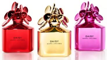 Marc Jacobs 小雛菊推出聖誕節限定係列,霓虹包裝閃閃惹人愛!