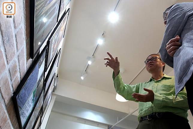 是次攝影計劃涵蓋籠屋、棺材房、天台屋,是張榮麟為香港把脈診症的「醫生紙」。