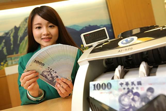 台幣近期急升,對美元匯價已經大1年多新高點。
