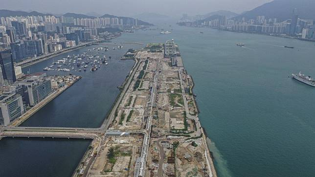 Abandoned HK$11.1 billion Kai Tak commercial plot has its wings clipped by protests, is back on market for 40 per cent less