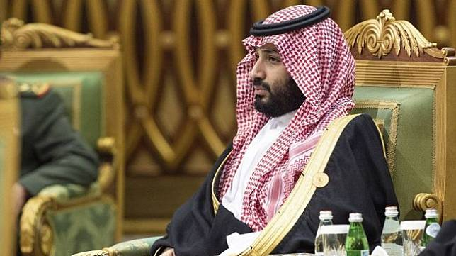 Putera Mahkota Arab Saudi, Mohammed bin Salman. [Bandar AL-JALOUD / Saudi Royal Palace / AFP]