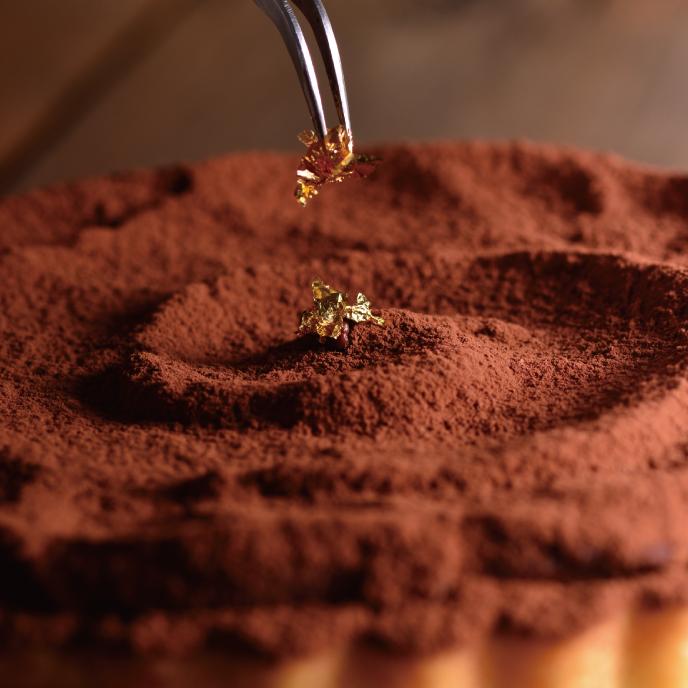 【食感旅程Palatability】生巧克力塔 / 法國進口莊園級巧克力 / 法國鐵塔奶油