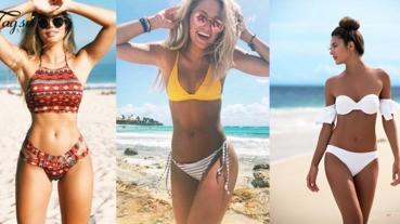 一田夏日海灘派對,高矮肥瘦都有適合的款式!選一套適合自己身材的泳衣去海灘,進行一場「海灘時裝秀」吧!