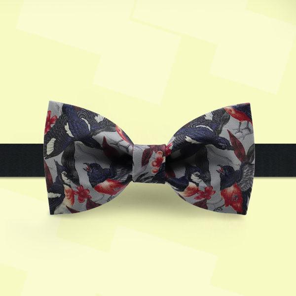 領結 非設計布生活時尚領結 蝴蝶結 新郎禮服ins風正裝領結 花鳥捲 曼慕衣櫃