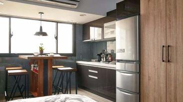 破解小坪數烹飪難題!必看 5 招微型廚房規劃術!