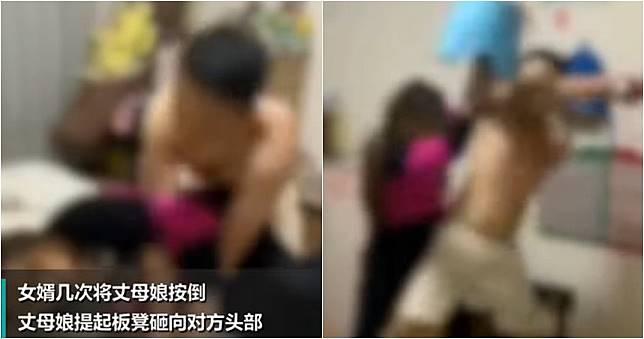 女婿裸身激戰「壓著岳母打」 女兒竟淡定錄影