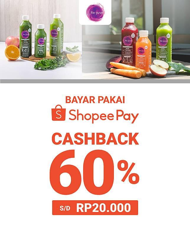 Shopee Pay Promo Rejuve Cashback 60 Shopee Pay Line Today