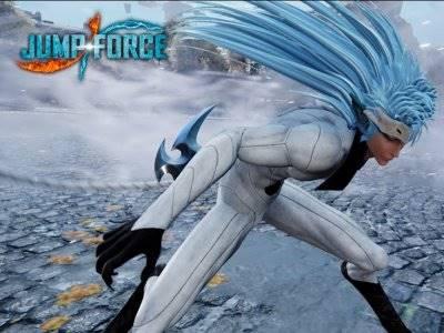 Bandai Namco Pamer Aksi Trafalgar dan Grimmjow di Game Jump Force