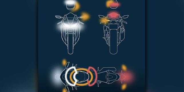 Prinsip kerja helm Tali Connected (Rideapart)