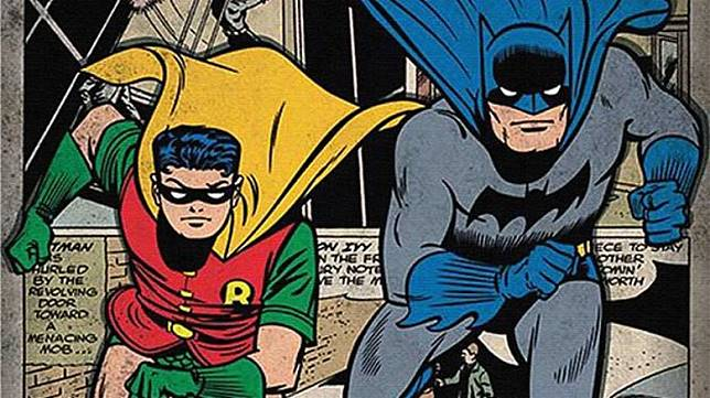 漫畫因Robin出場而令銷量大升兩倍,Robin亦成為長期出場角色,變成蝙蝠俠的得力助手。(互聯網)
