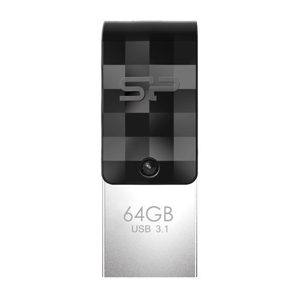 品 牌:Silicon Power原廠型號: SP064GBUC3C31V1K(64BG)SP 廣穎 原廠公司貨,全新未拆封,保固60個月瞬間擴充 即刻備份具備標準USB Type-A(USB 3.2