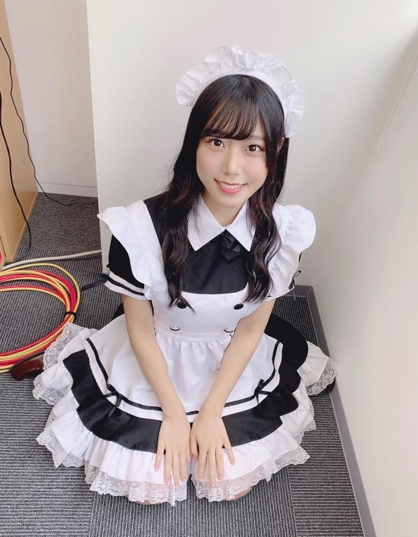 虹のコンキスタドール 公式ブログ - 「メイド服×まーりん*208 ...