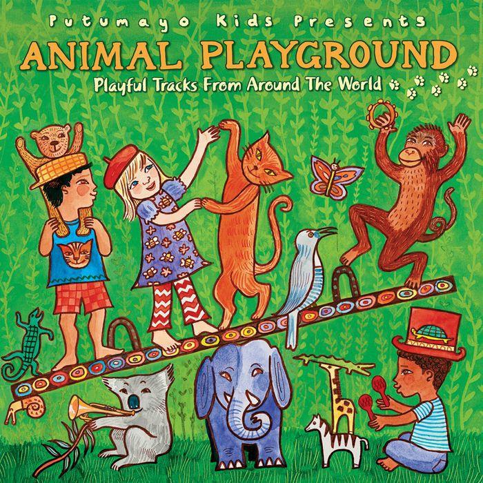 全球歡唱動物歌(升級版) Animal Playground (Updated) PUT352