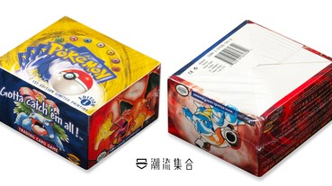 保留近30多年,未開封 Pokémon 遊戲卡套裝以44萬成交!