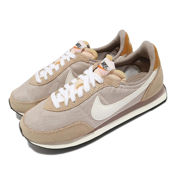 Nike 休閒鞋 Wmns Waffle Trainer 2 SE 奶茶 麂皮 女鞋 復古鞋【ACS】 DM9091-012